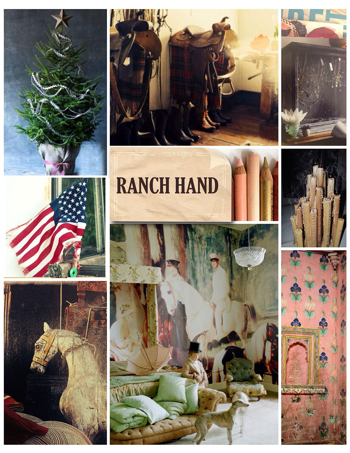 Ranch Hand Design Inspiration Home Decor Country Christmas Americana
