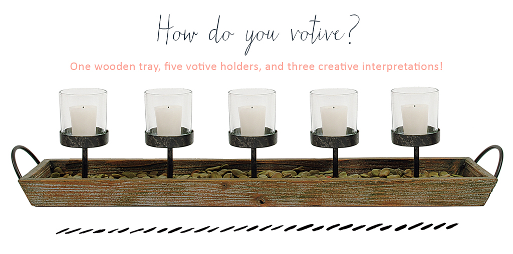 Creative Ideas for uses of votive holders!