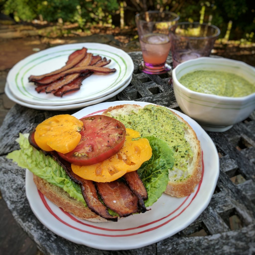 Roasted Poblano BLT